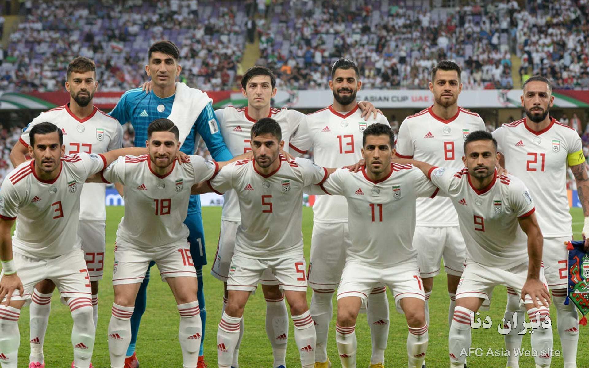 دانلود عکس تیم ملی فوتبال ایران 1