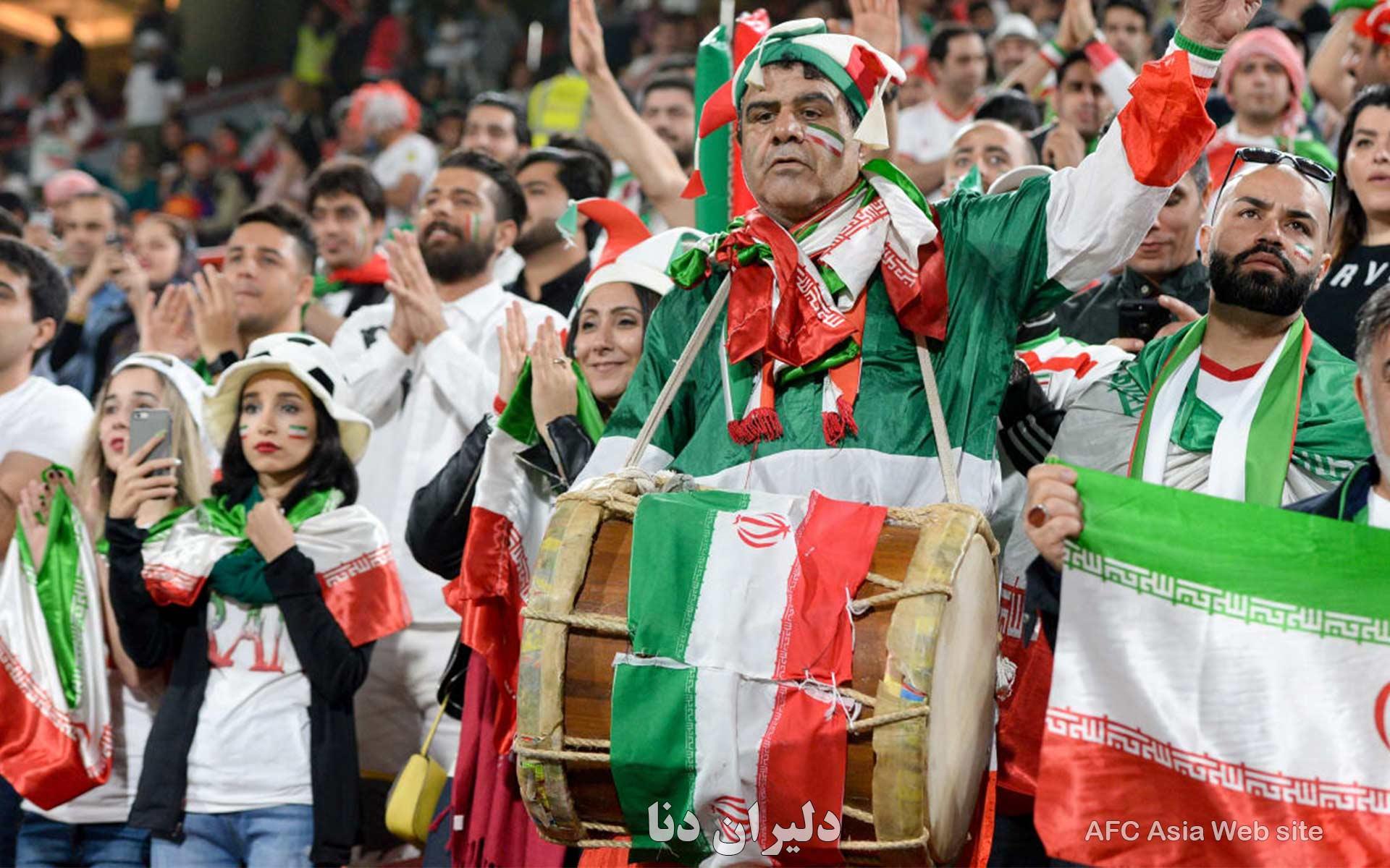 دانلود عکس تیم ملی فوتبال ایران