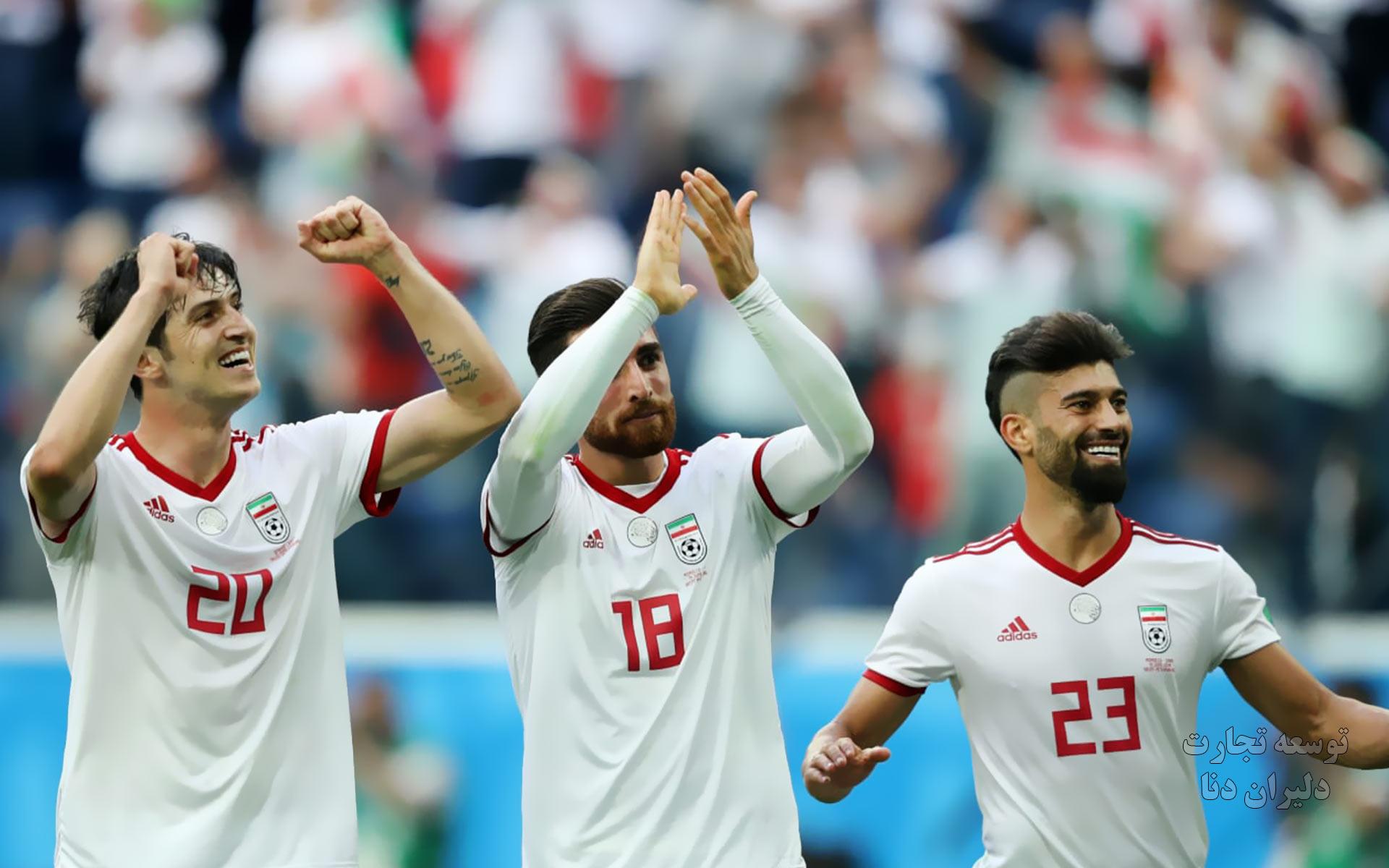تصاویر با کیفیت تیم ملی فوتبال ایران برای پس زمینه 11