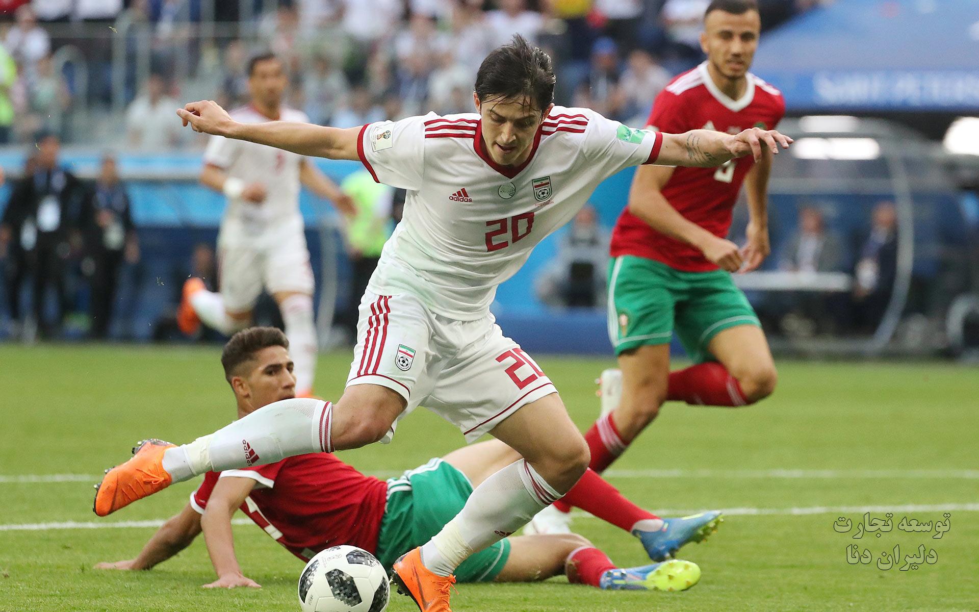 تصاویر با کیفیت تیم ملی فوتبال ایران برای پس زمینه 2