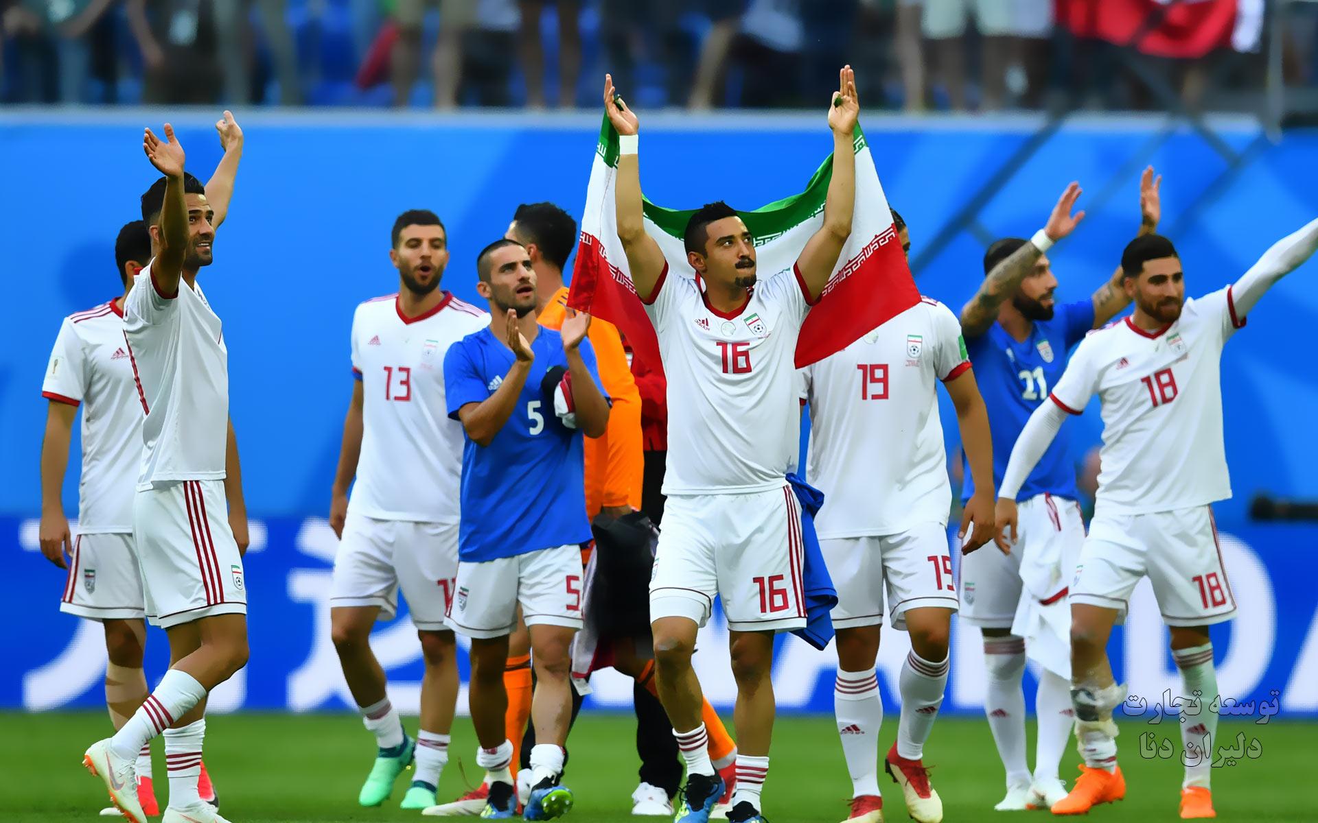 تصاویر با کیفیت تیم ملی فوتبال ایران برای پس زمینه 3