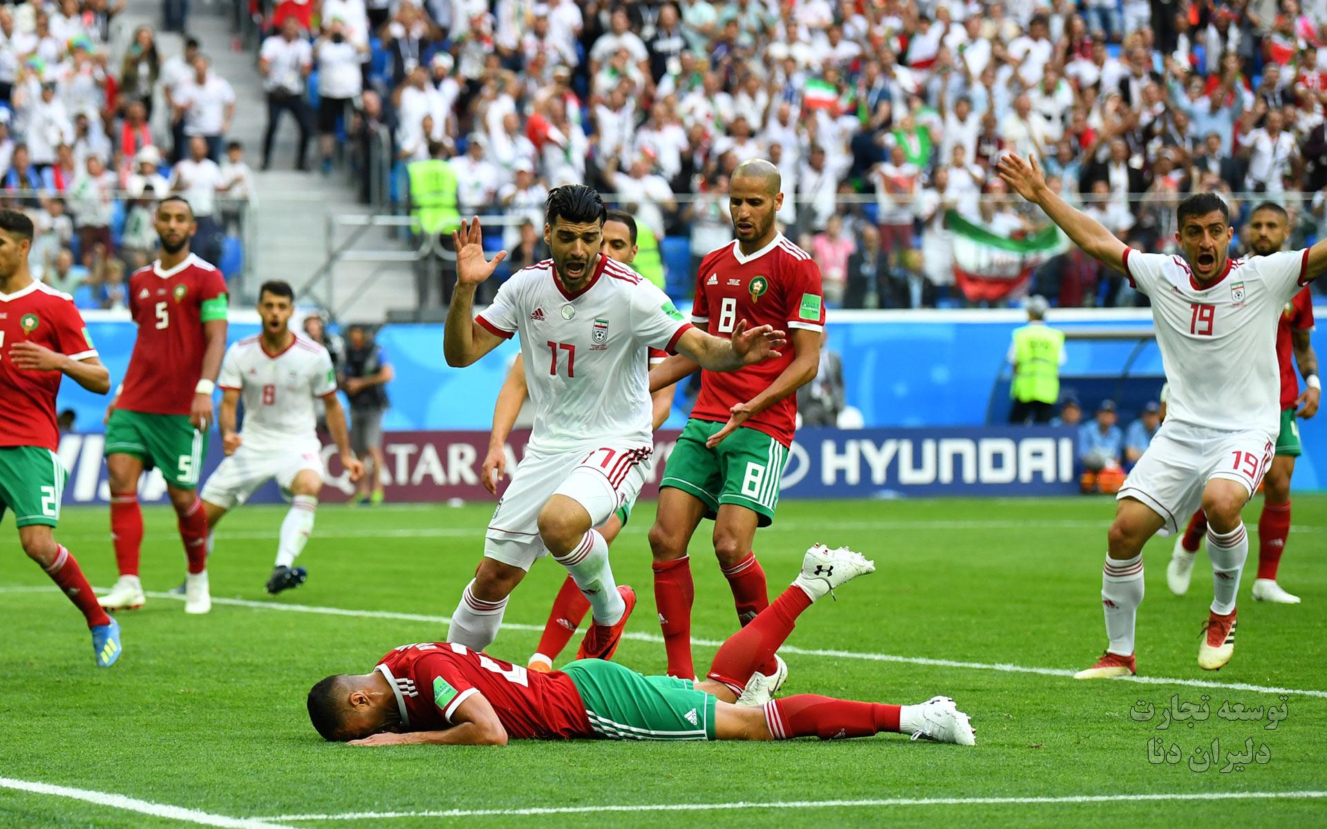 تصاویر با کیفیت تیم ملی فوتبال ایران برای پس زمینه 4