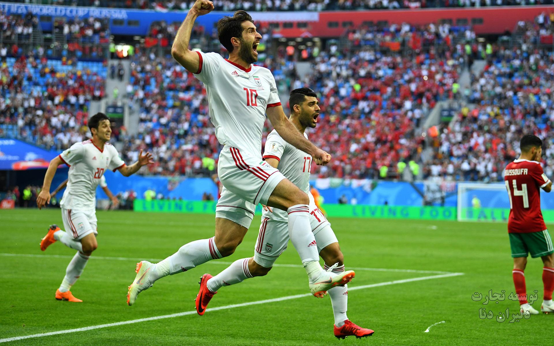 تصاویر با کیفیت تیم ملی فوتبال ایران برای پس زمینه 6