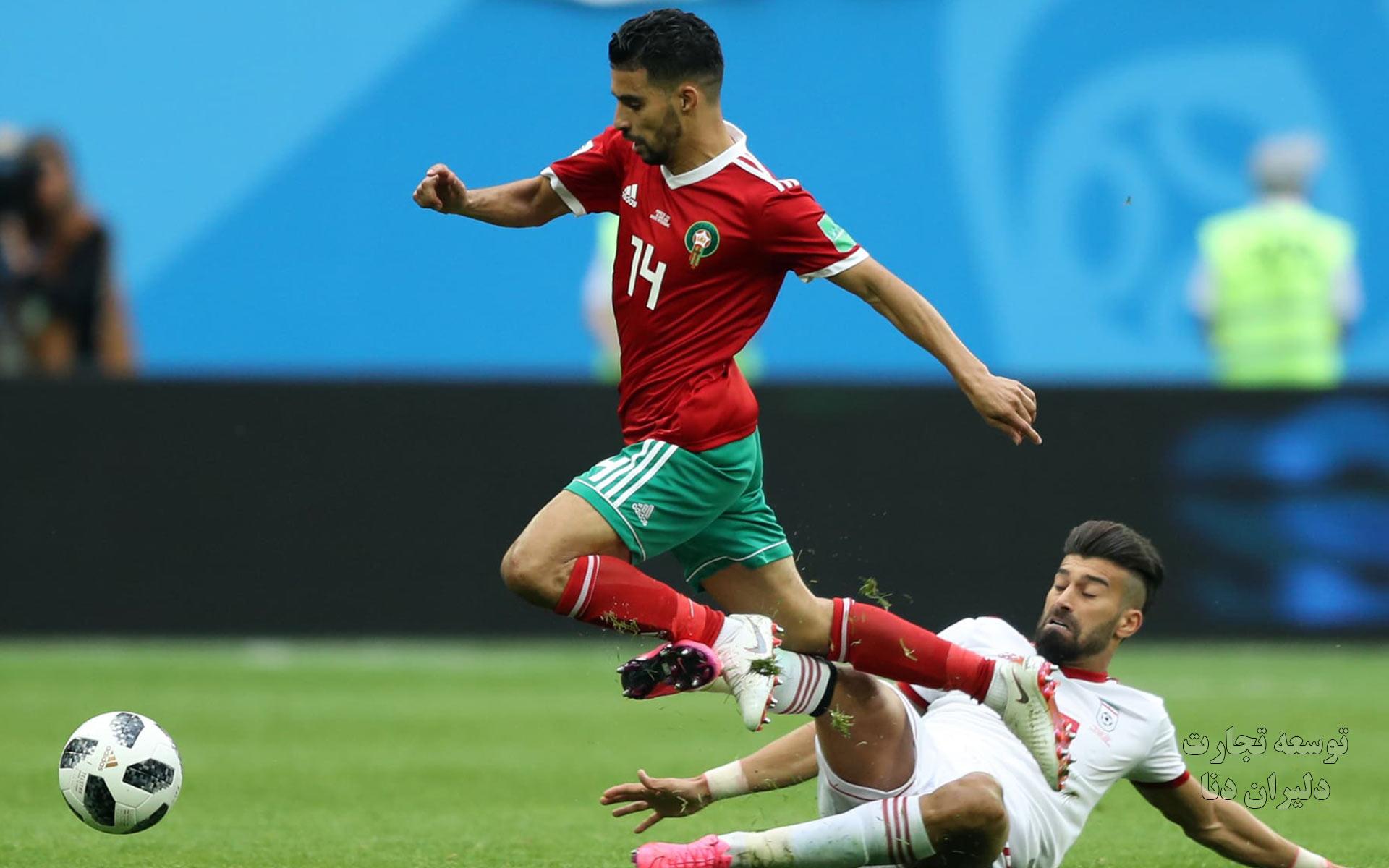 دانلودتصاویر تیم ملی فوتبال ایران در جام جهانی 2018